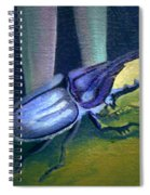 Card Of Nosey Bug Spiral Notebook