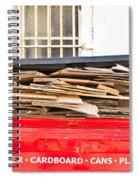 Cardboard  Spiral Notebook