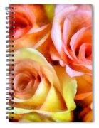 Caressing Spiral Notebook