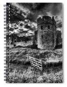 Carew Castle Pembrokeshire 4 Mono Spiral Notebook