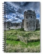 Carew Castle Pembrokeshire 4 Spiral Notebook