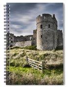 Carew Castle Pembrokeshire Long Exposure 2 Spiral Notebook