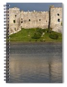 Carew Castle Reflections Spiral Notebook