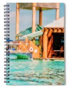 Caribbean-turks And Caicos Sandals Spiral Notebook