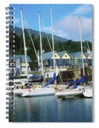 Carlingford Marina, Carlingford, County Spiral Notebook