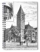 Carnegie Library, 1890 Spiral Notebook