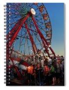 Carnival - An Amusing Ride  Spiral Notebook