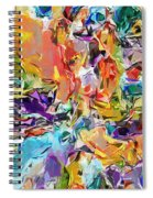 Carnival Abstract 082512 Spiral Notebook