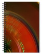 Carnival Lights Spiral Notebook