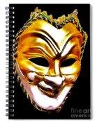Carnival Mask 2 Spiral Notebook