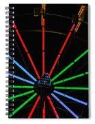 Carny Night 2 Spiral Notebook