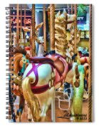 Carousel 7 Hdr Spiral Notebook