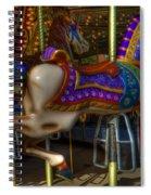 Carousel Beauties Going Away Spiral Notebook