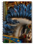 Carousel Beauty Star Of The Show Spiral Notebook