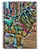 Carousel Color Spiral Notebook