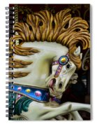 Carousel Horse - 4 Spiral Notebook