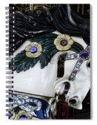 Carousel Horse - 9 Spiral Notebook