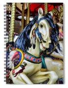 Carousel Horse 2 Spiral Notebook