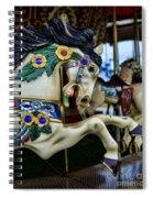 Carousel Horse 5 Spiral Notebook