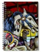 Carousel Horse 6 Spiral Notebook