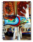 Carousel Horse With Fish Spiral Notebook