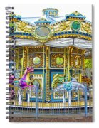 Carousel Ride In Pittsburgh Pennsylvania Spiral Notebook