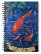 Carpe Vinum Spiral Notebook