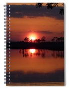 Carrabelle Sunset Spiral Notebook