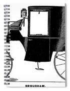 Carriage: Brougham Spiral Notebook