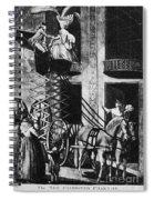Carriage Cartoon, 1776 Spiral Notebook