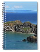 Carrick-a-rede Rope Bridge In The Spiral Notebook
