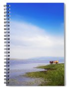 Carrowmore Lake, Co Mayo, Ireland Spiral Notebook
