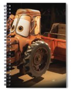Cars Land Cow Tractor Spiral Notebook