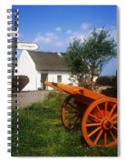 Cart On The Roadside Of A Village, The Spiral Notebook