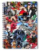 Cartoon Car Detail Spiral Notebook