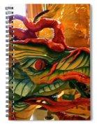 Carved Dragon Spiral Notebook