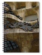 Casa Mila Spain Spiral Notebook