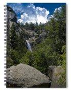 Cascade Falls Yosemite National Park Spiral Notebook