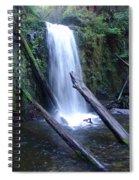 Rainforest Waterfall Cascades Spiral Notebook