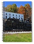 Cass Railway Wv Painted Spiral Notebook