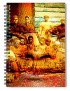 Cast Into The Wind Spiral Notebook