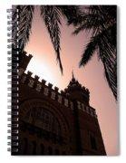 Castell Dels Tres Dragons - Barcelona Spiral Notebook