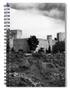 Castle And Clouds Spiral Notebook