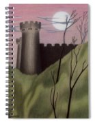 Castle By Moonlight Spiral Notebook