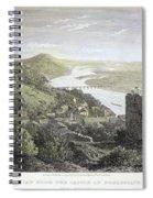 Castle Donaustauf, 1823 Spiral Notebook