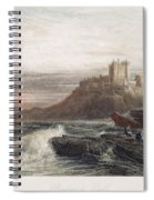 Castle: England, 19th C Spiral Notebook