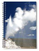 Castle Geyser Erupting Spiral Notebook