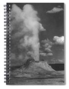 Castle Geyser Yellowstone Spiral Notebook