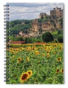 Castle In Dordogne Region France Spiral Notebook