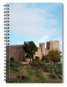 Castle In Sunlight Spiral Notebook